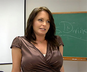 You mean...you want to see my mom breasts? - Milf Porn
