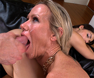 Dominant step mom finds out about them - Milf Porn
